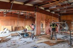 New foreman Stewie working on big reno project!