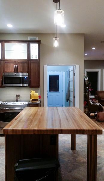 High Bluff kitchen.