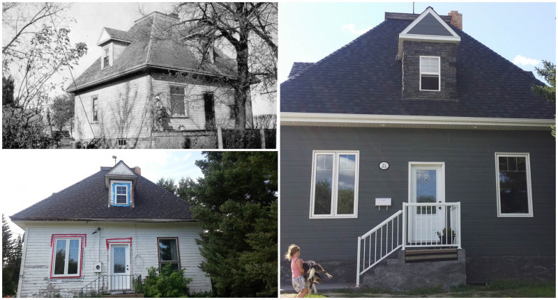 High Bluff old house transformation.