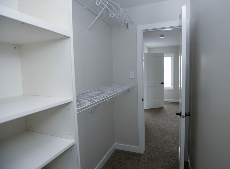 Master bedroom walk-in closet.