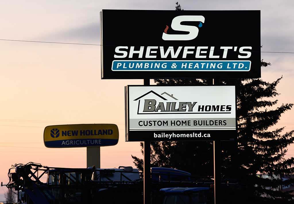 Bailey Homes Sign